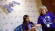 NASA downlink participant asks a question