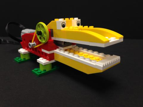 LEGO WeDo Hungry Alligator