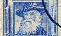 Commemorative stamp of Walt Whitman