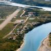 Aerial shot of Igiugig