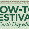 logo for How-To Festival: Earth Day edition