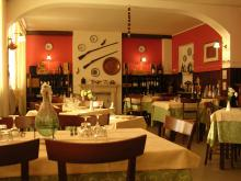 Inside of a restaurant