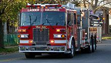 A firetruck