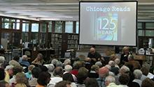 The audience at the Chicago Reads event