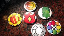 Sample Pokemon badges