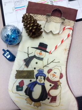 Christmas sensory kit for storytime