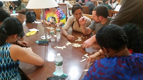 Bananagrams round of event