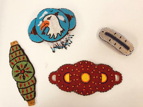 Tribal bead artifacts