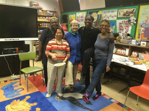 One of BPL's Creative Aging goals is to foster community.