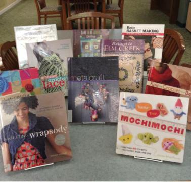 Craft book display