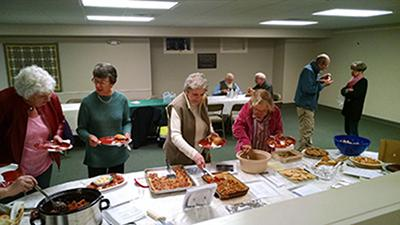 """The first Cookbook Challenge event's theme was """"finger foods."""""""