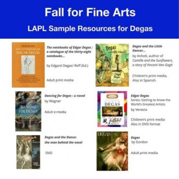 Degas Library Resource List
