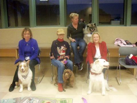 Volunteer dog teams