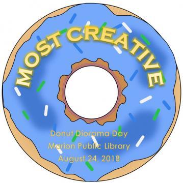Donut Diorama Certificate