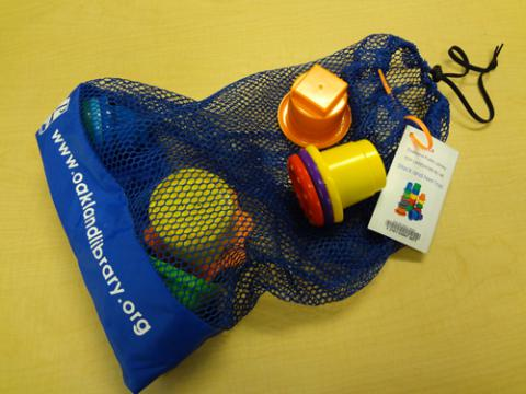 Example of Toy Lending Bag
