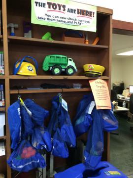 Toy Lending Display