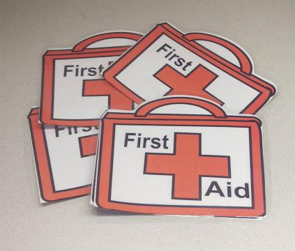 First aid kit icons