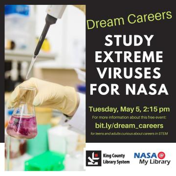 Photo of social media flyer for Dream Careers