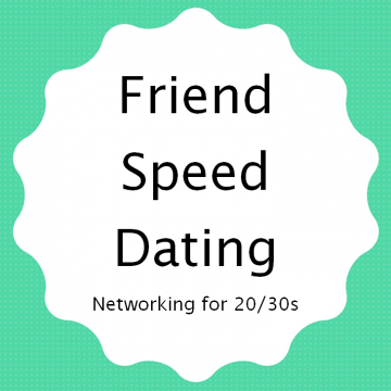 Sign for Friend Speed Dating