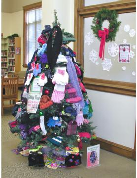The Giving Tree at Bedford Public Library
