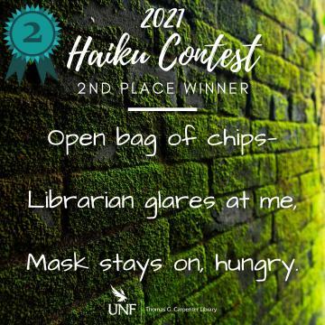 Haiku Contest 2nd Place