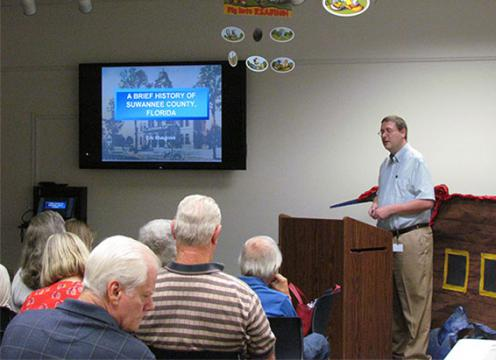 Author Eric Musgrove presents 10 years of the county's history.