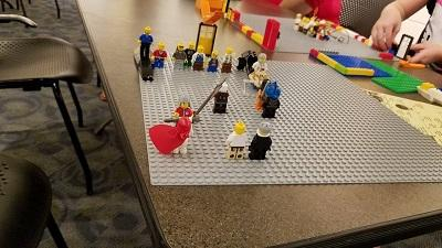 The Lego Club provides an opportunity for children to get exposed to other library programs