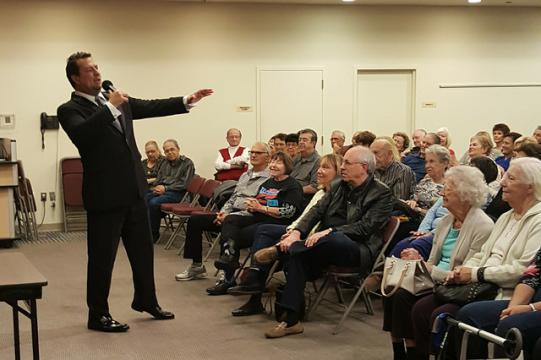 Lou Dottoli performs Sinatra tribute as part of Cherry Hill: Entertainment Mecca