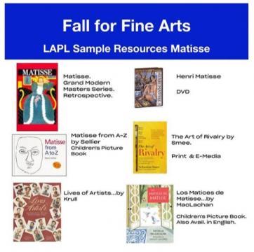 Matisse Library Resource List