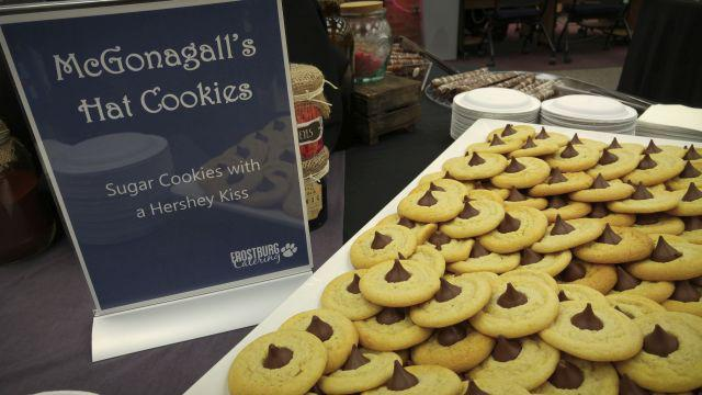 McGonagall's hat cookies