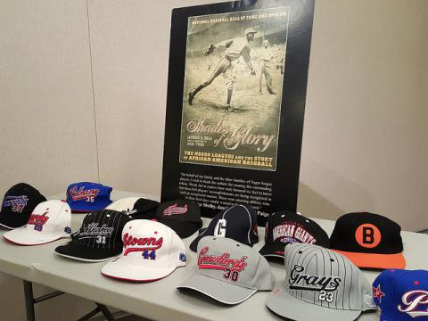 Negro Baseball League caps