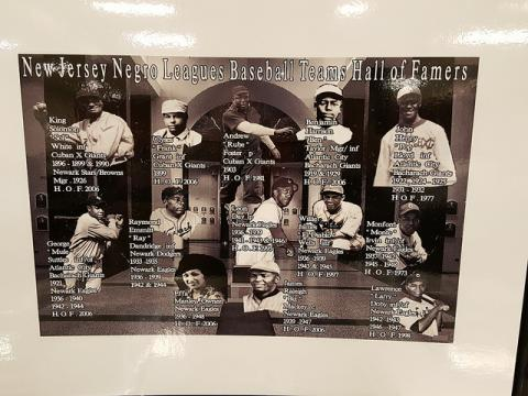 New Jersey Negro Baseball League Hall of Famers