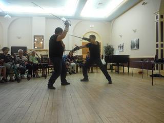 Sword fight demo