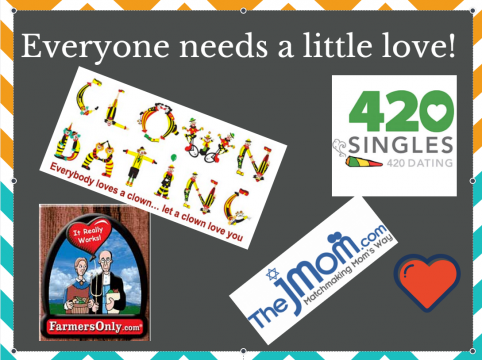 Everyone needs a little love! Ads for online dating sites