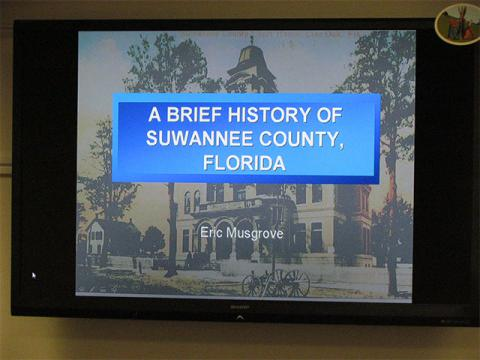 """""""A Brief History of Suwannee County, Florida"""""""