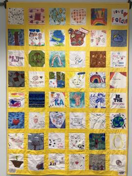 Photo of the children's quilt