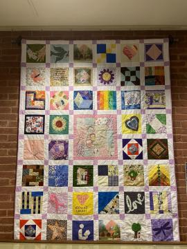 Photo of the main quilt
