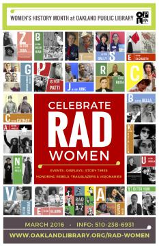 Celebrate Rad Women poster