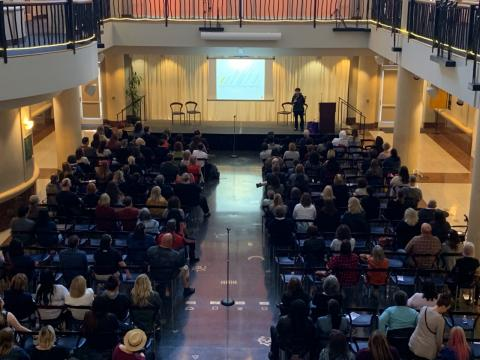 The audience for the True Crime Mini-Con