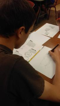 Participant drawing