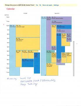 WT3C Calendar of Events