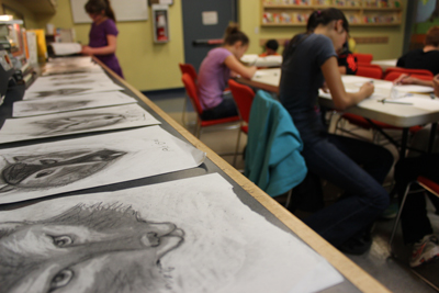 Teen drawing workshop