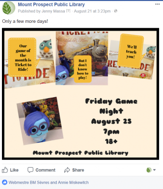 Facebook Event image