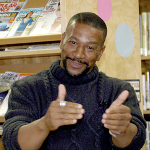 Programs such as Michigan Notable Books result in rich (and inexpensive) events such as the Heidelberg Project's Tyree Guyton.